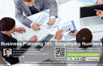 Business Planning 101: Simplifying Numbers by NextStep