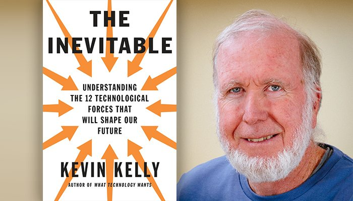 The inevitable Book by Kevin Kelly on NextStep