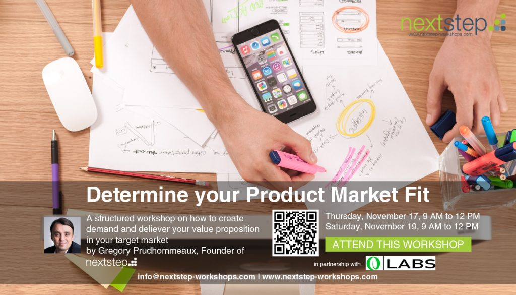 Determine your Product Market Fit by NextStep