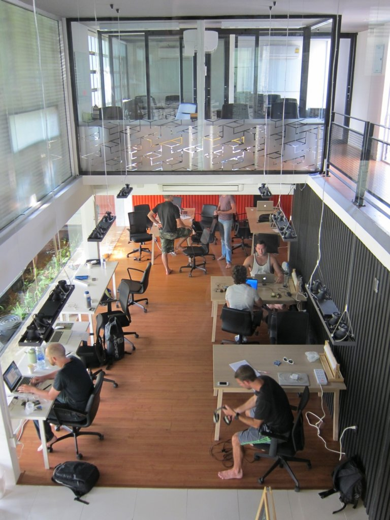 Co-Working Space Punspace Thailand