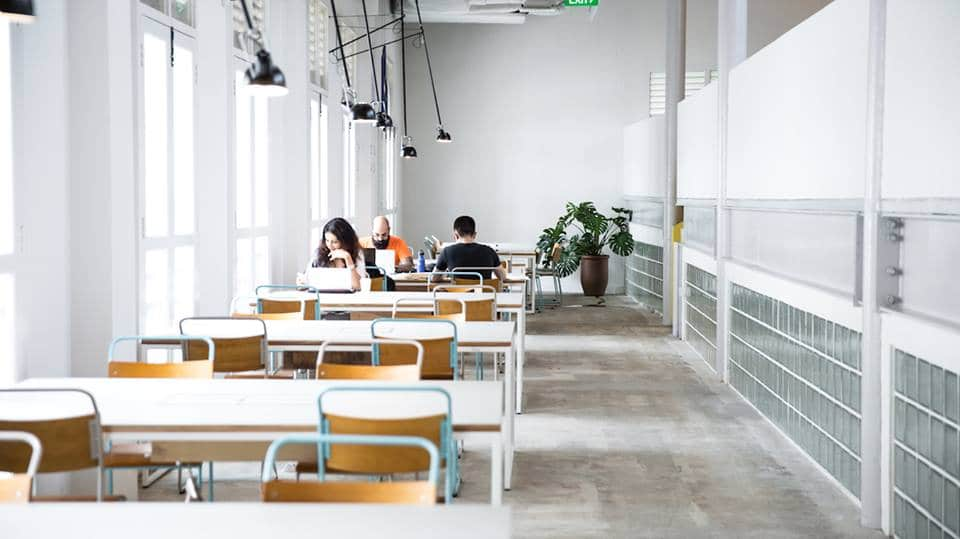 Co-Working Space The Working Capitol Singapore