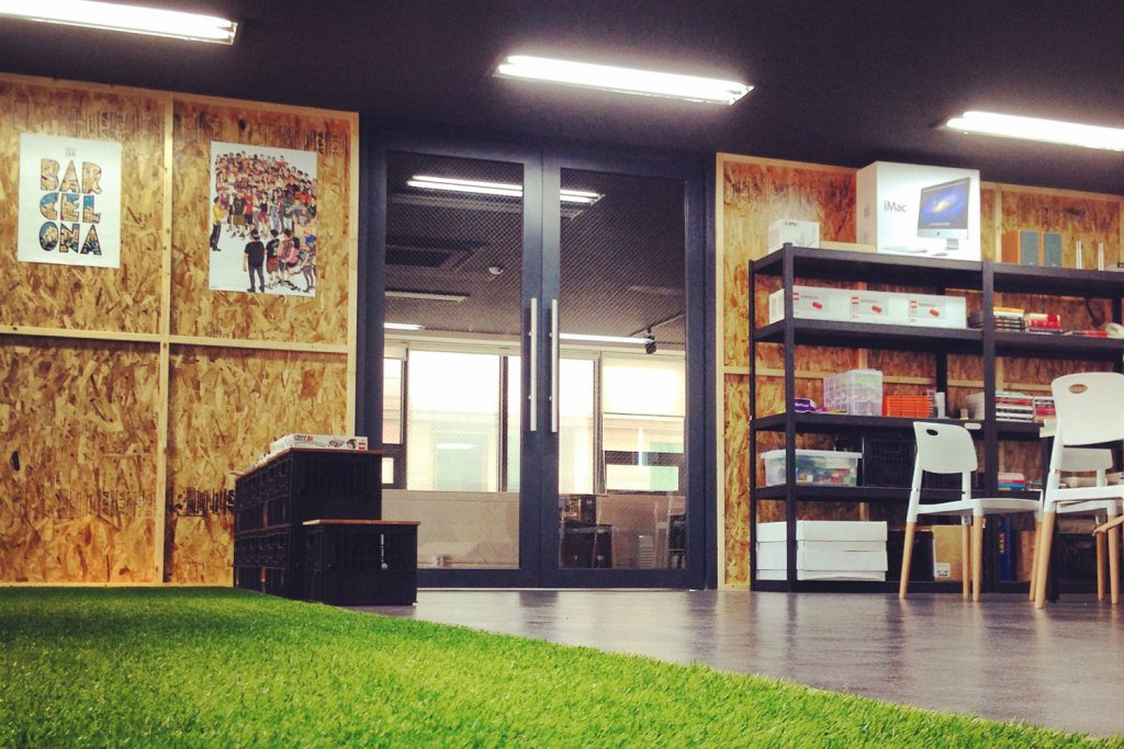 Co-Working Space Hive Arena Seoul South Korea