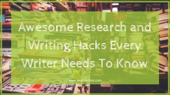 Writing Hacks for Writers