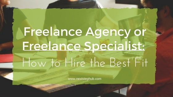 Freelance Agency vs Freelance Specialist