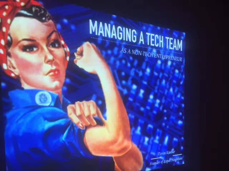 Manage technical team