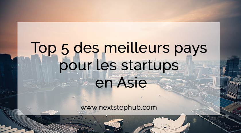 start up - top 5 - asie