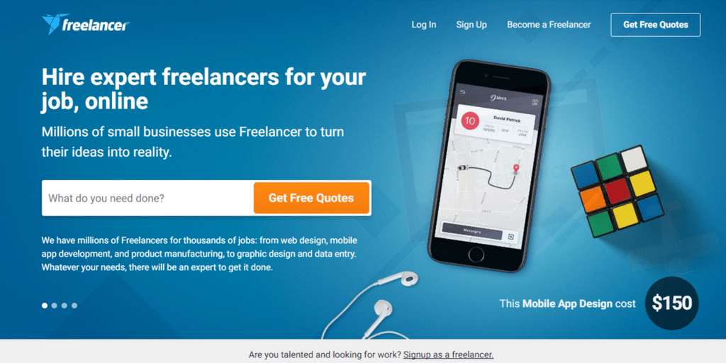 Freelance website - Freelancer