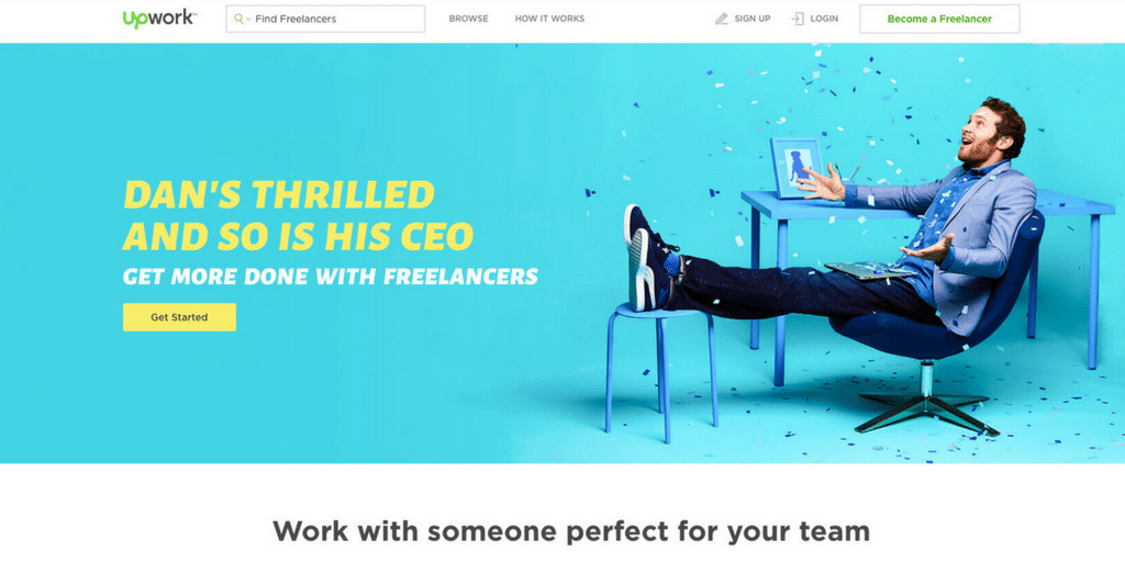 Freelancer website - Upwork