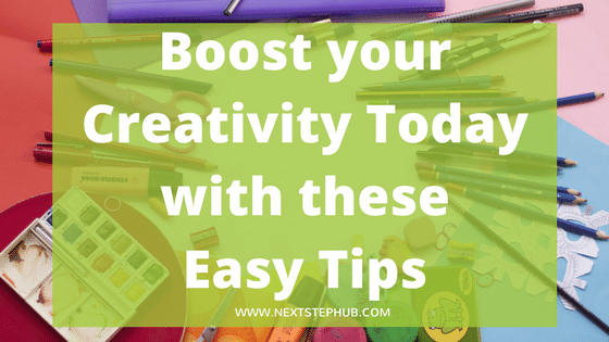 boost creativity tips