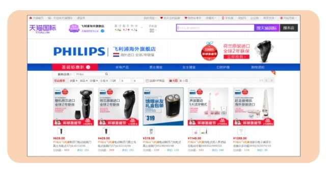 China Ecommerce online malls