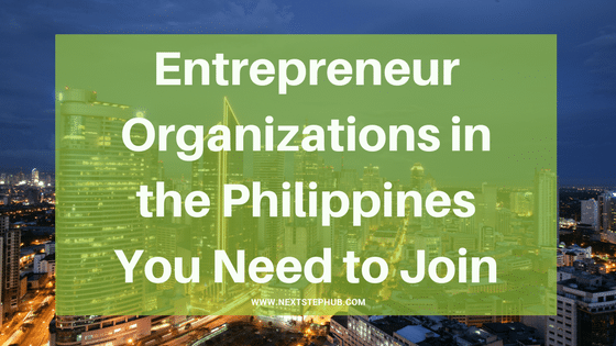entrepreneurs organization Philippines top 5