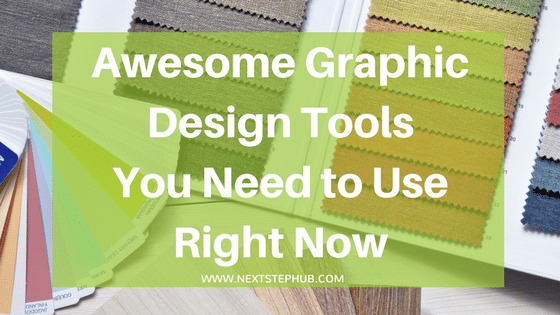 graphic design tools online title image