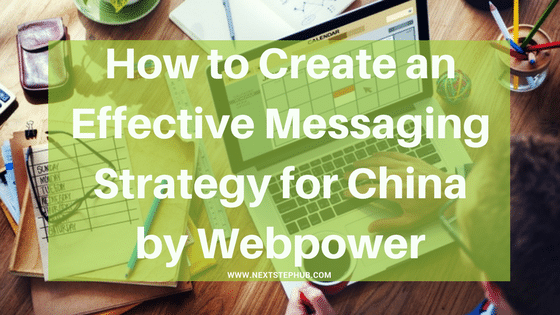 Messaging Strategy China