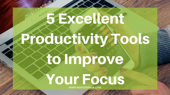productivity tools for focusing