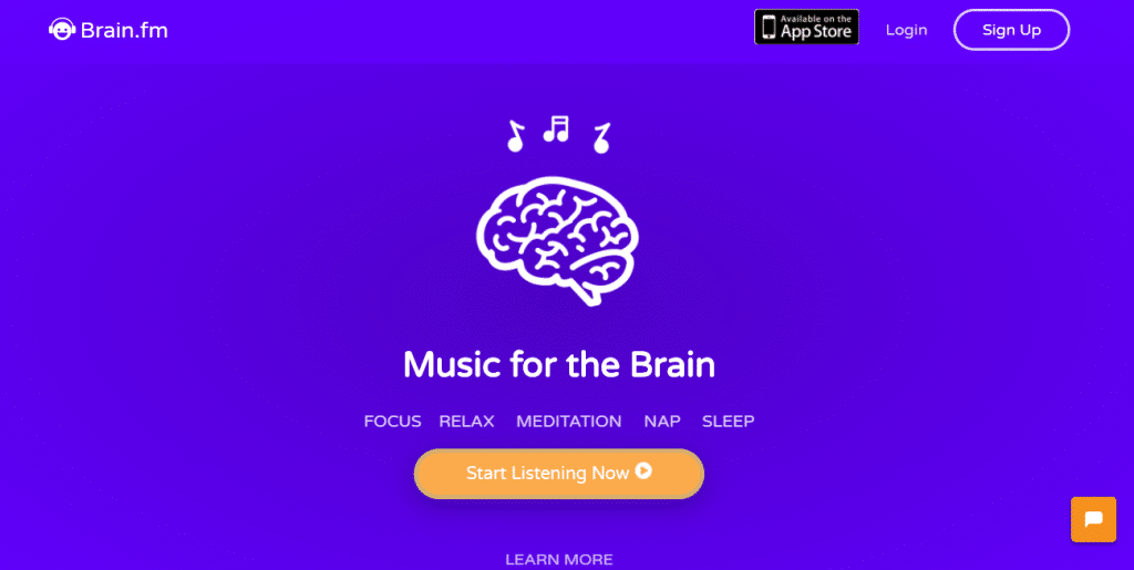 Productivity Tools Brain.fm