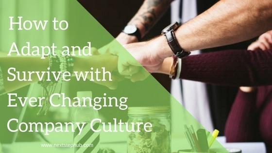 survive changing company culture