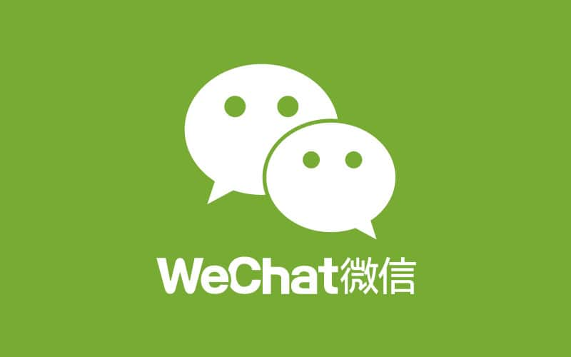 Chinese mobile apps WeChat