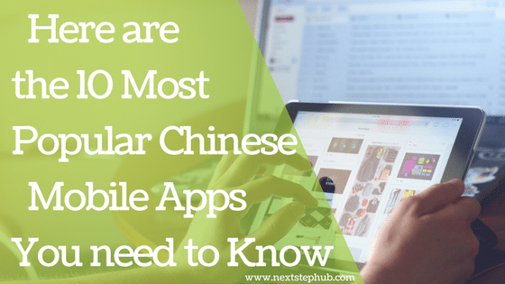 Chinese mobile apps top 10