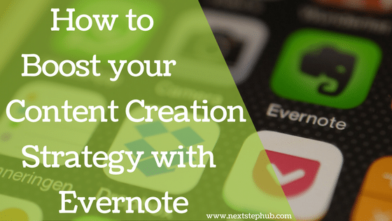 Content Creation Strategy Evernote