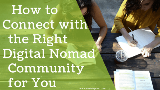Digital Nomad Community tips