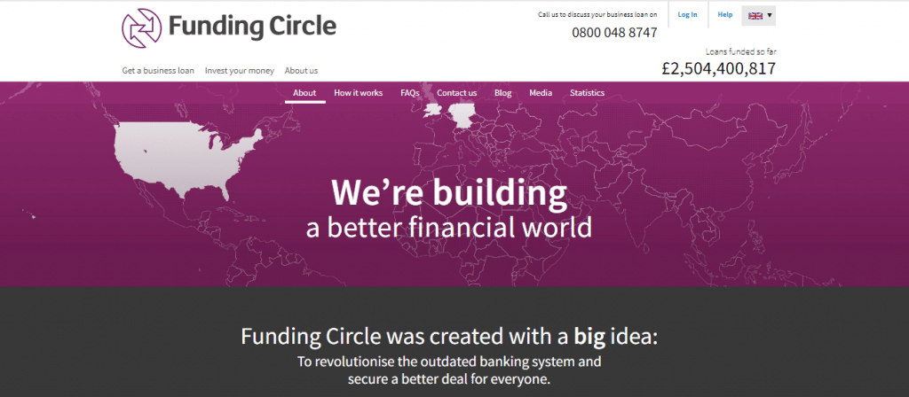 crowdfunding websites Funding Circle