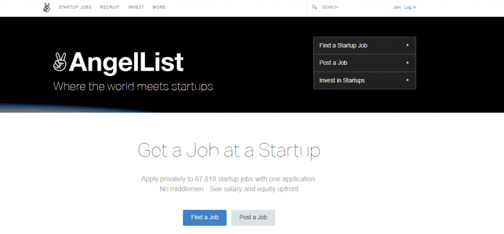 crowdfunding websites AngelList