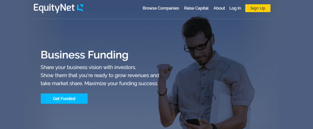 crowdfunding websites EquityNet