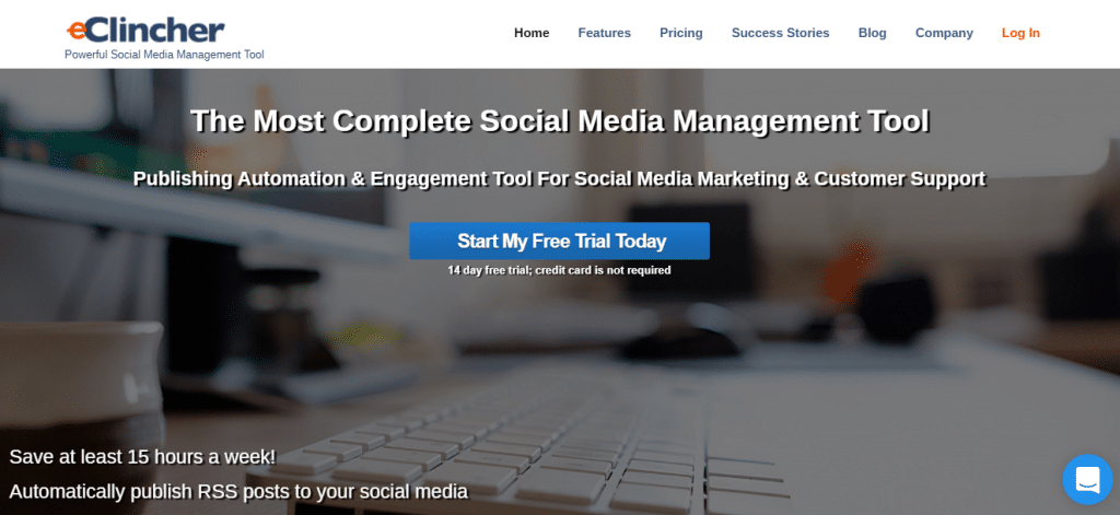 social media management software eClincher