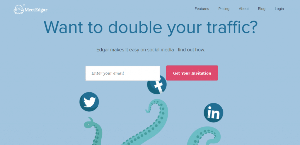 social media management software Meetedgar