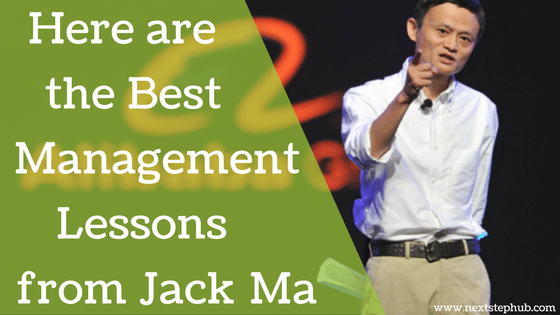 management lessons from Jack Ma