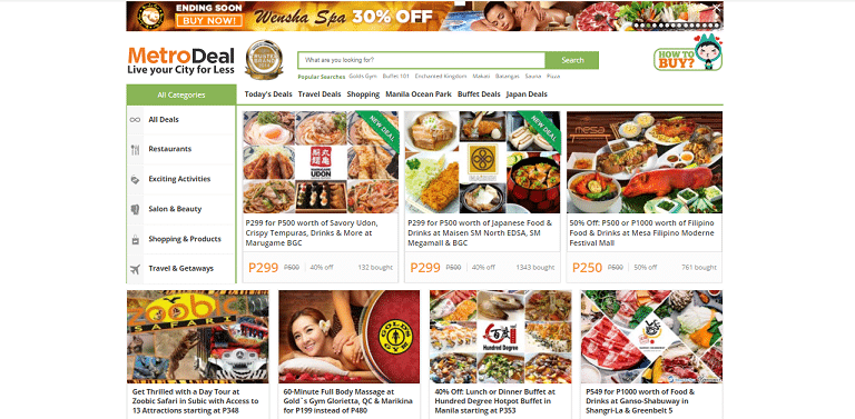 philippines best ecommerce platforms Metrodeal