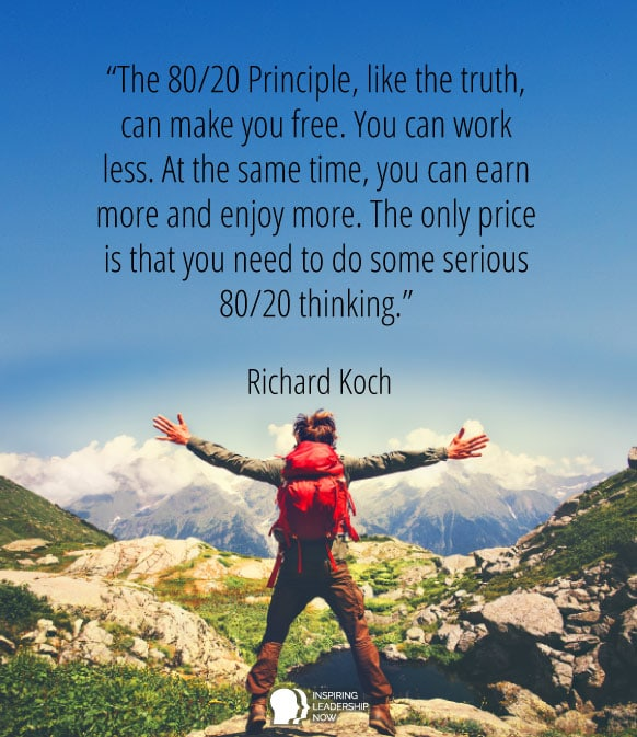 Pareto Principle quote