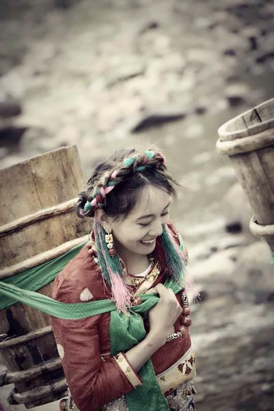 Social Entrepreneur in China Tibetan Woman