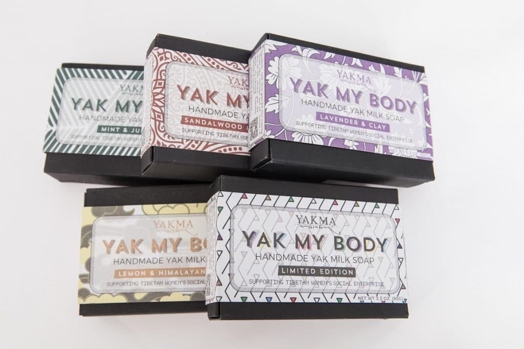 Social Entrepreneur in China Yakma Soaps
