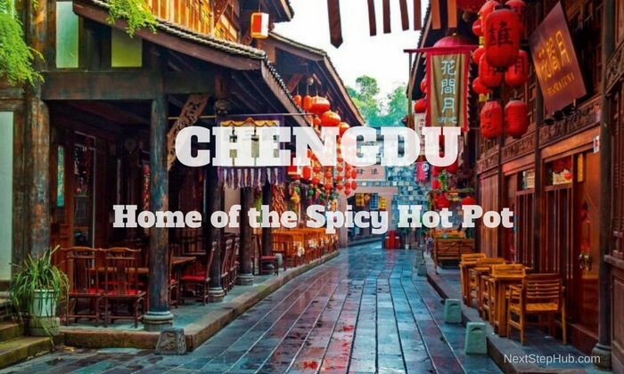 Digital Nomad Traveling in China Chengdu