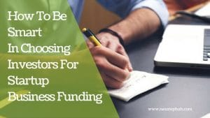 startup business funding tips