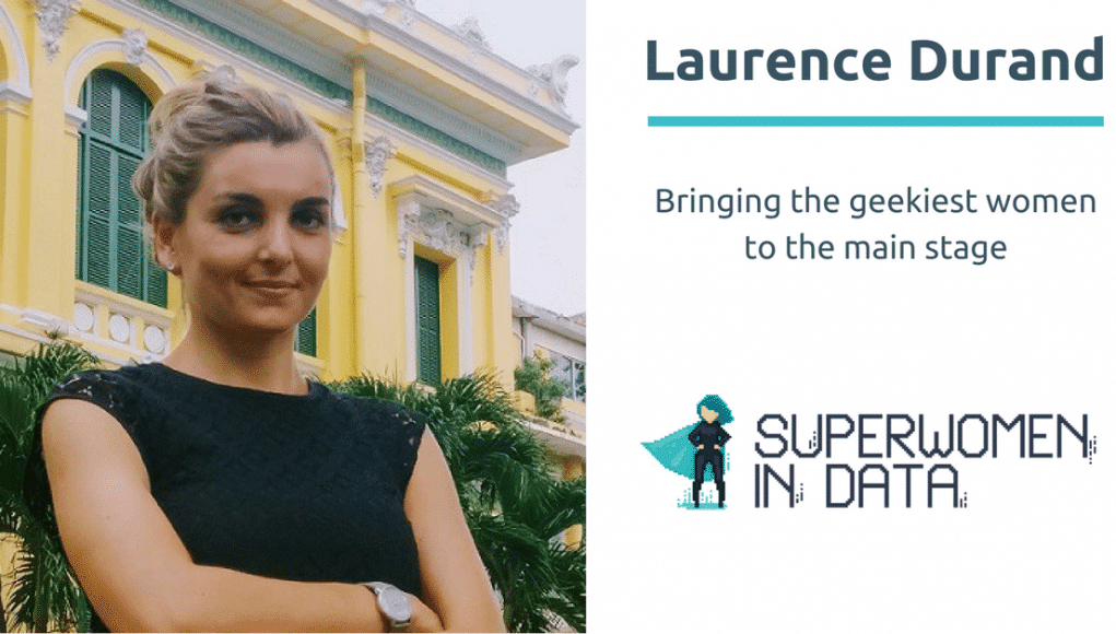 Laurence Durand - fondatrice de Superwomen in Data a Shanghai