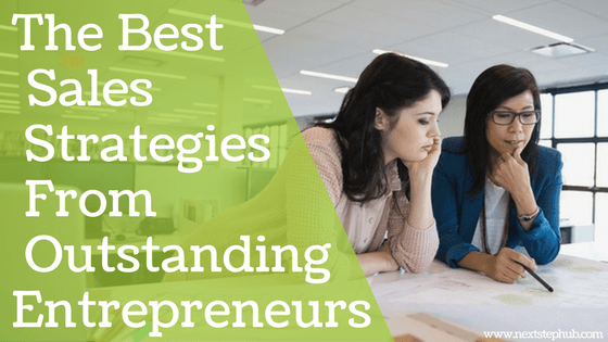 best sales strategies women entrepreneurs