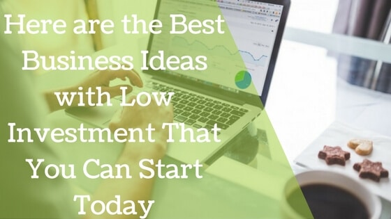 best business ideas with low investment top 10