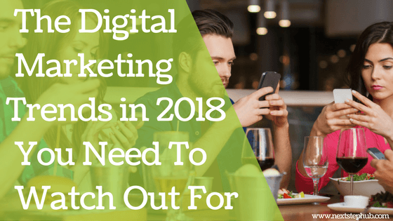marketing trends in 2018 digital