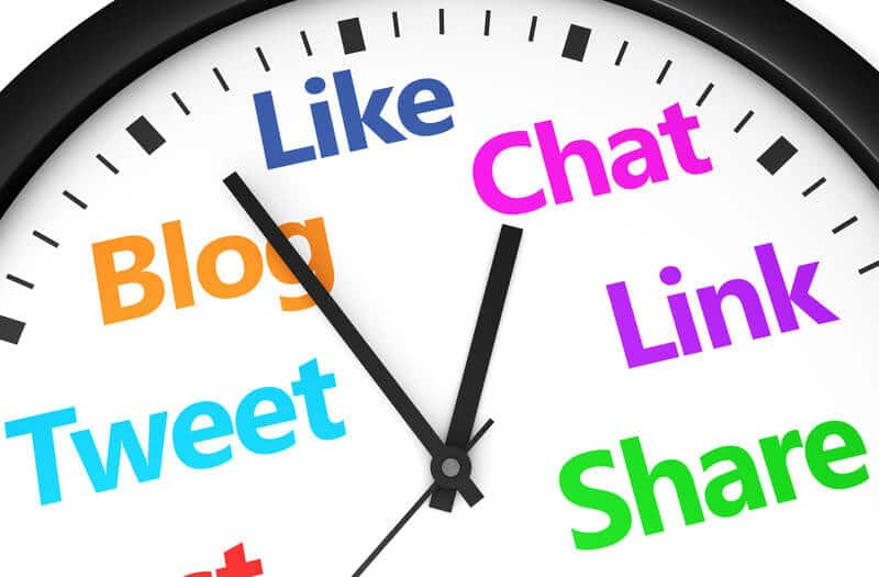 Social Media For Business post schedule