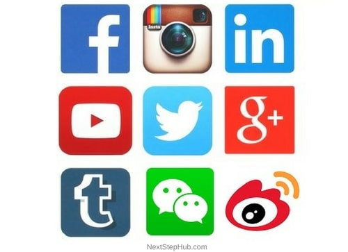 Social Media For Business link social accounts