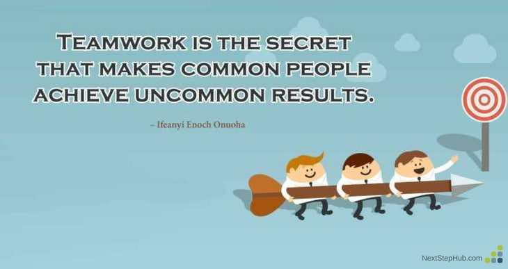 Effective Team Member teamwork quotation