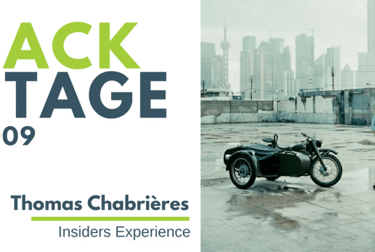 BACKSTAGE #009 - Thomas ChabriBACKSTAGE - 009 - Thomas Chabrières - Insiders Experience - BackStage Podcast