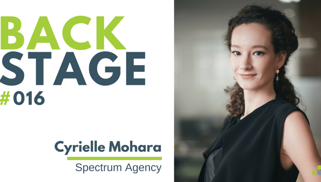 BACKSTAGE #016 - Cyrielle Mohara - Podcast Spectrum Agency Wedding Planner en Chine