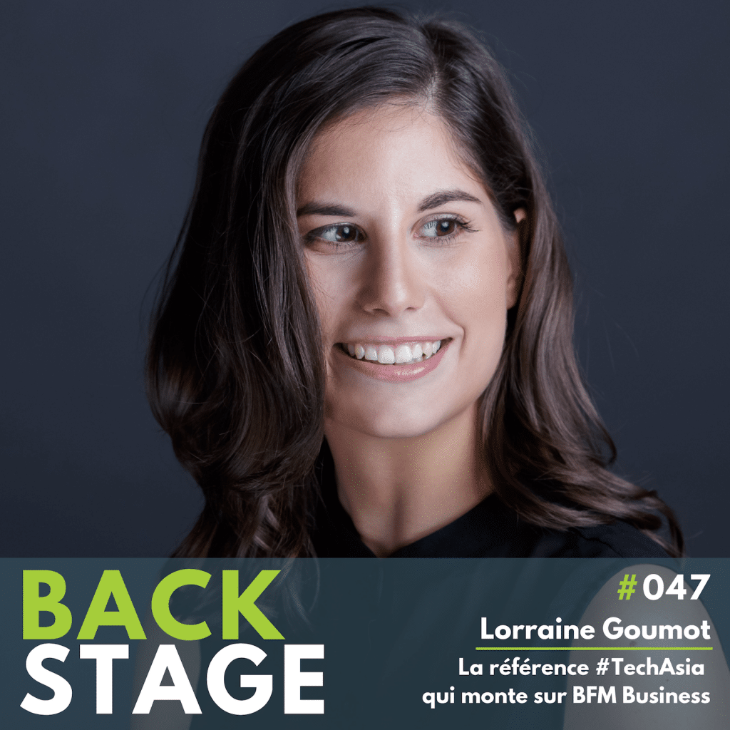 Lorraine Goumot, BFM Business, NextStep BackStage Podcast